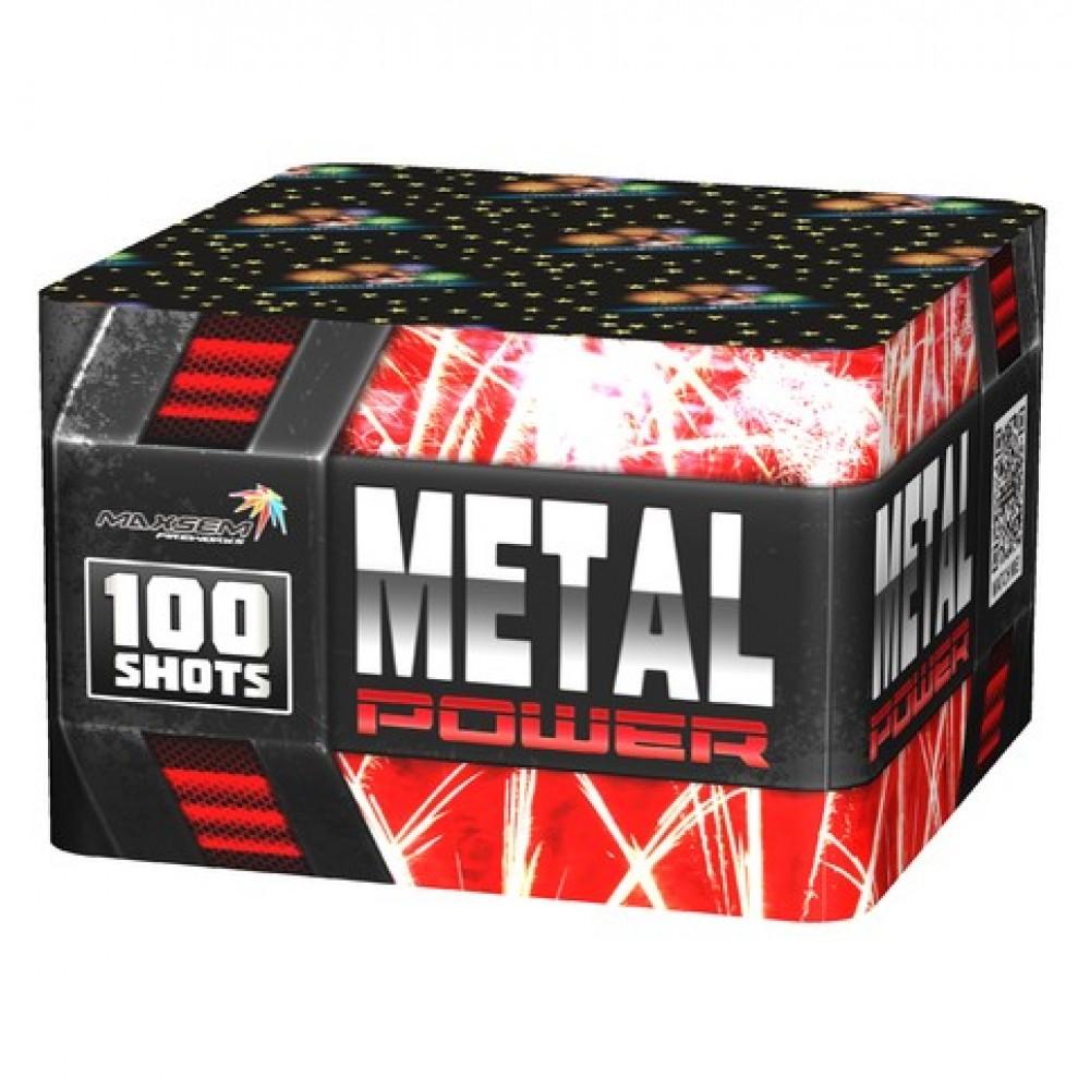 METAL POWER (1,2″/ 100 ЗАЛПОВ)