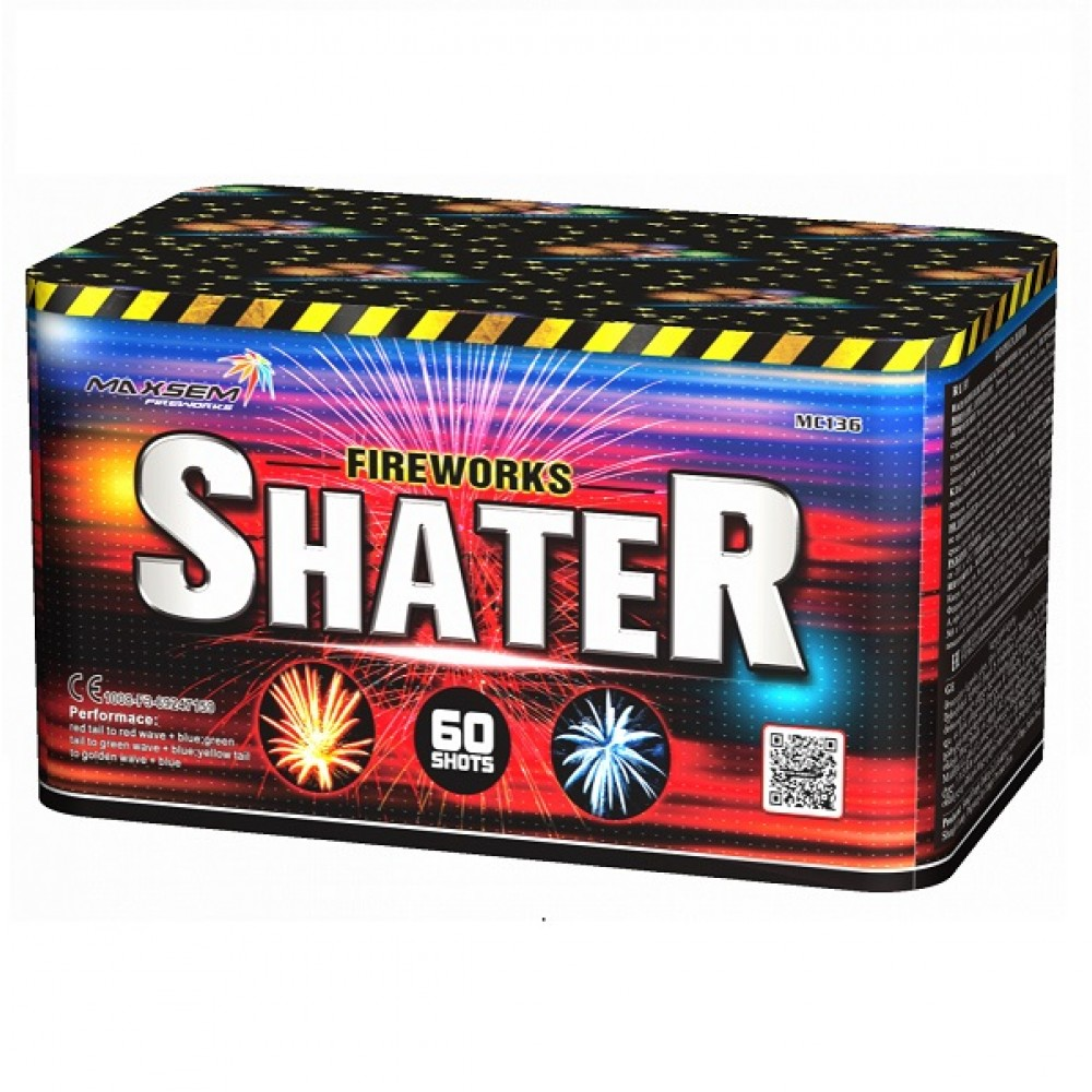 "SHATER (1"" / 60 ЗАЛПОВ)"
