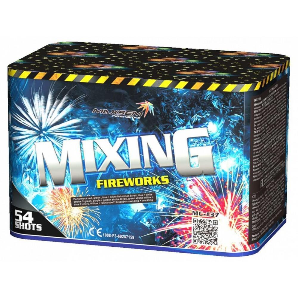 ФЕЙЕРВЕРК MIXING FIREWORKS (1,2/ 54 ЗАЛПА)