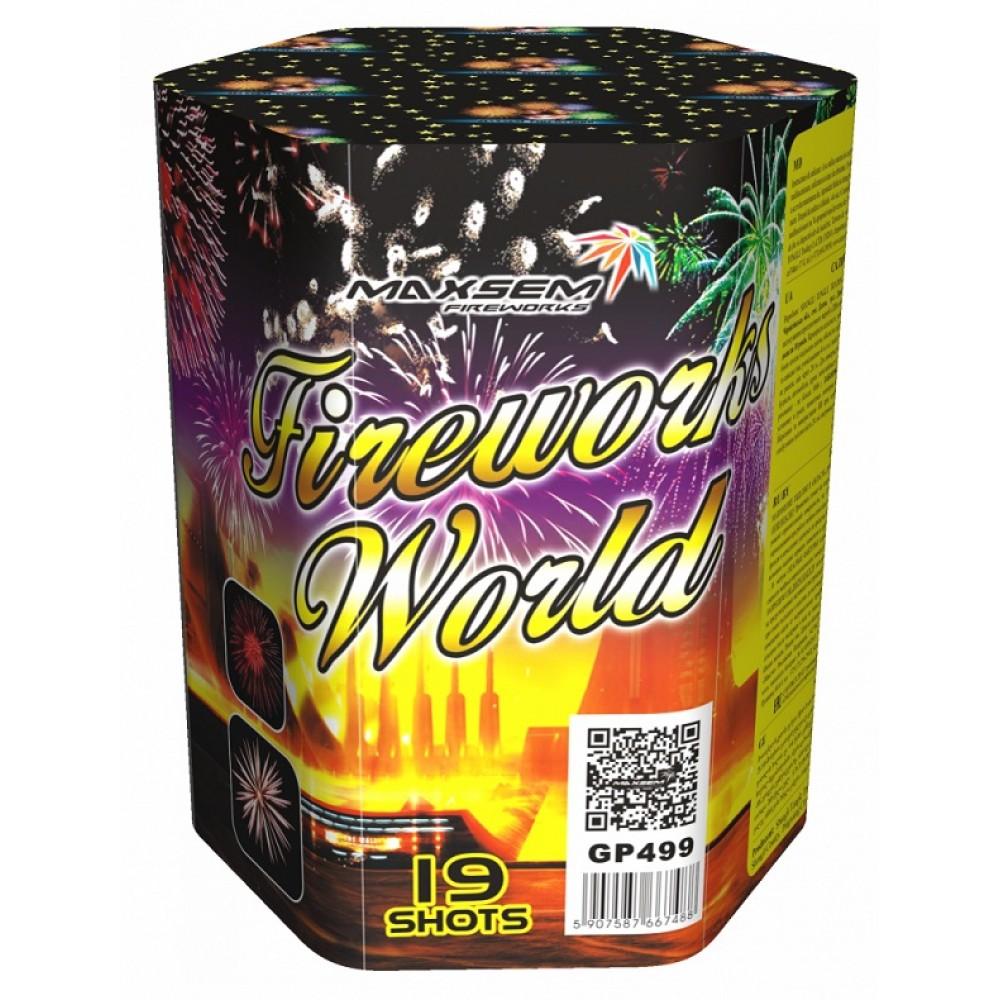 "FIREWORKS WORLD (1,2""/19 ЗАЛПОВ)"
