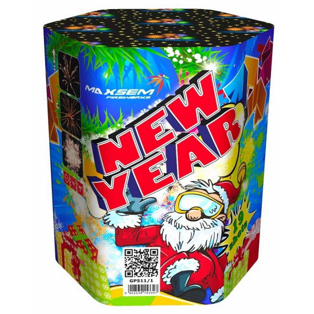 """NEW YEAR (1,2""""/ 19 ЗАЛПОВ)"""
