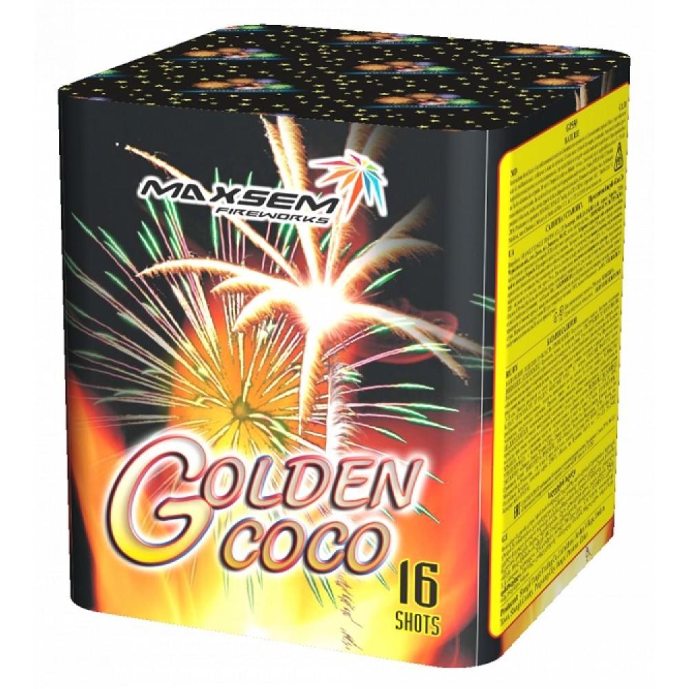 ФЕЙЕРВЕРК GOLDEN COCO (1″ / 16 ЗАЛПОВ)