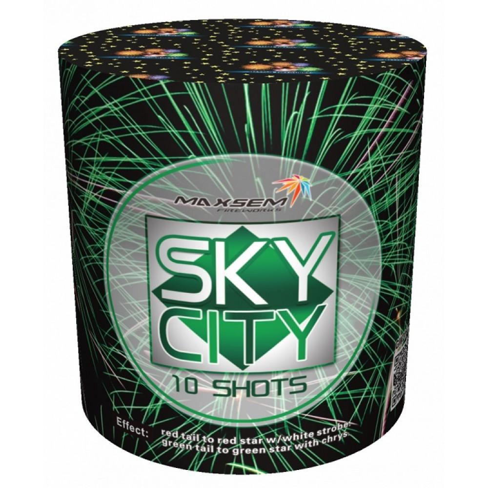 "SKY CITY (0,8""/ 10 ЗАЛПОВ)"