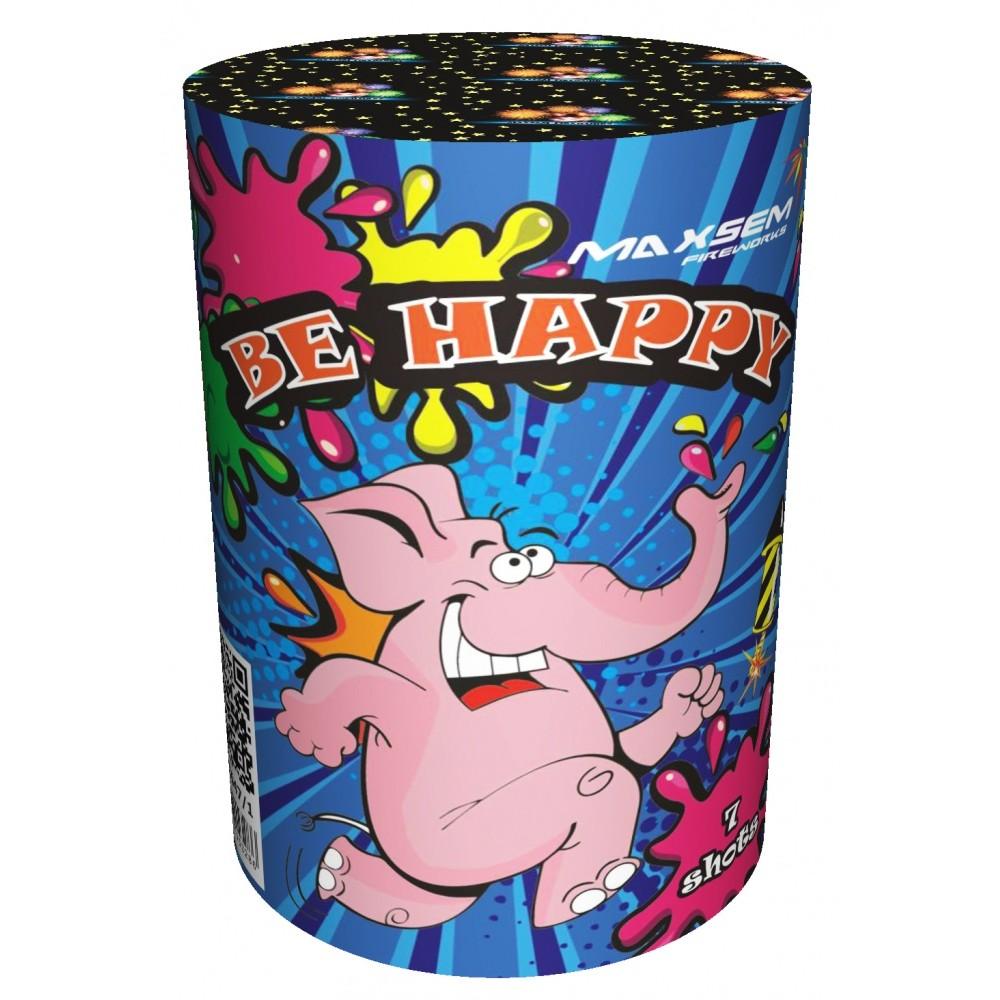 BE HAPPY (1″/ 7 ЗАЛПОВ)