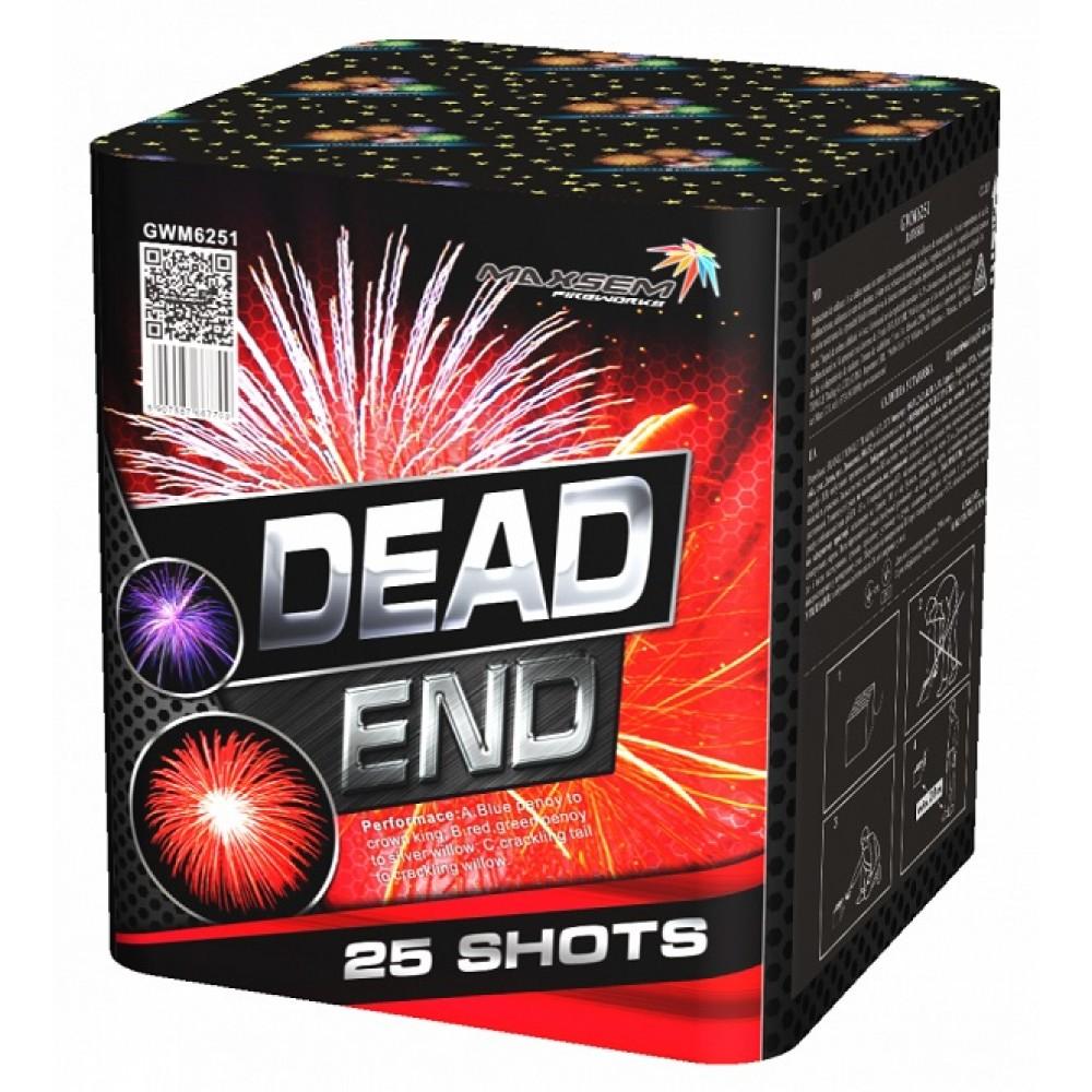 """DEAD END (1,2"""" / 25 ЗАЛПОВ)"""