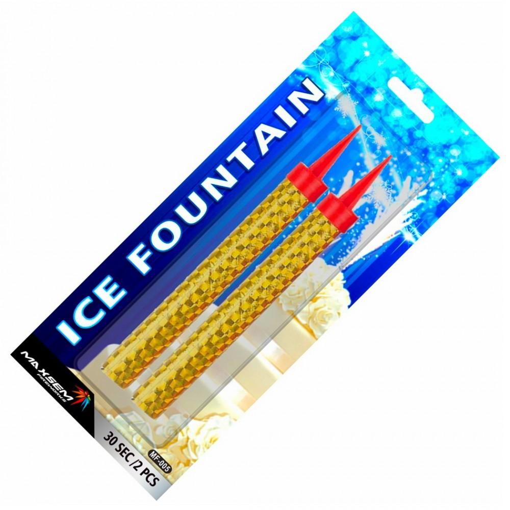 ФОНТАНЫ В ТОРТ ICE FOUNTAIN (30 СЕК.)