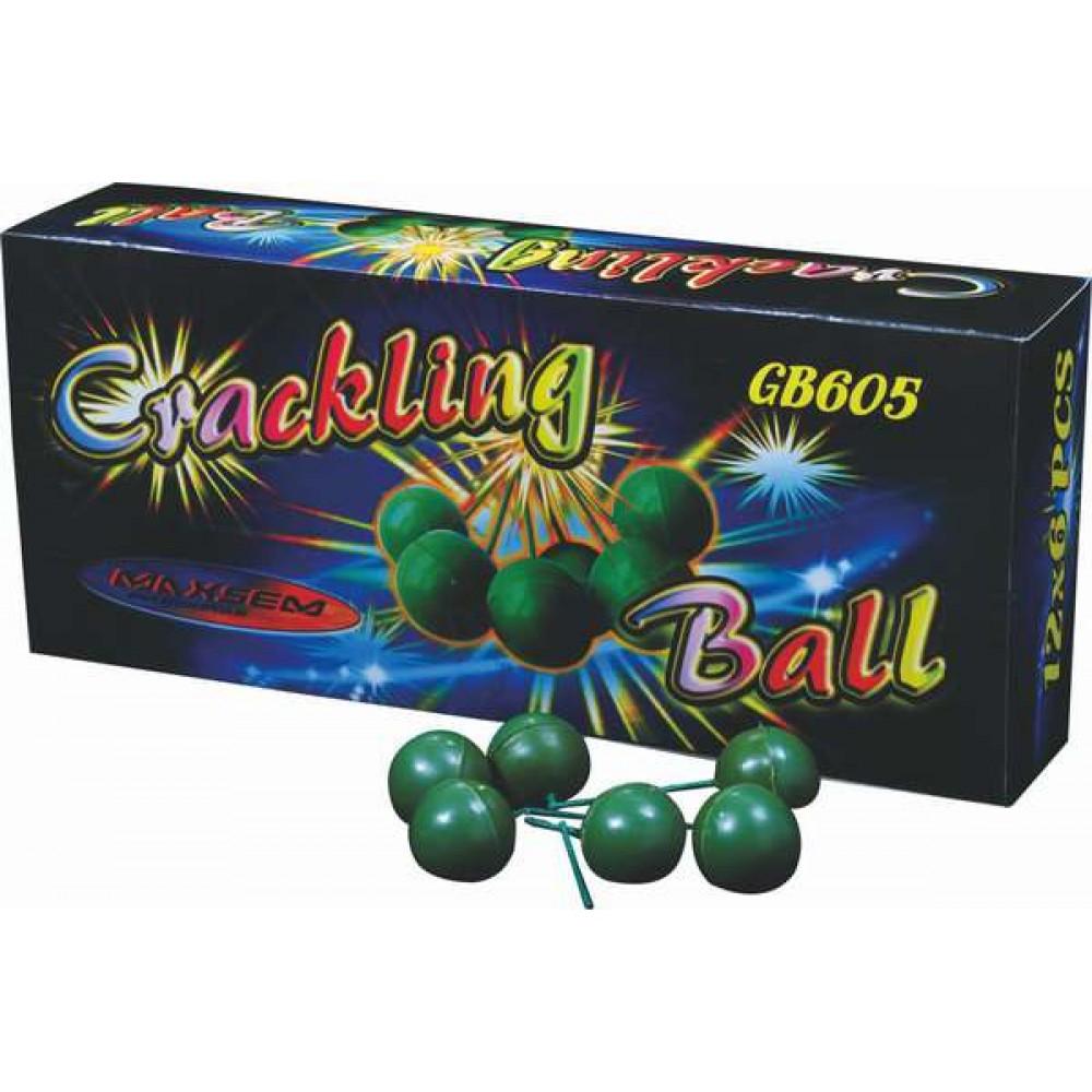 ПЕТАРДЫ ШАРИКИ/CRACKLING BALL (6 ШТ.)